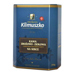 Kawa zbożowo - ziołowa dla zdrowego serca z dodatkiem ziół (200 g)