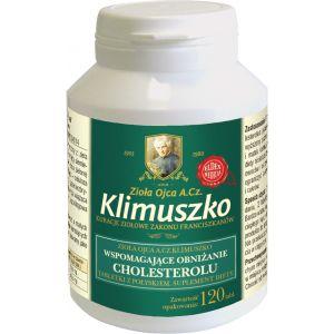 Tabletki wspierające prawidłowy poziom cholesterolu Ojca A. Cz. Klimuszko (120 tabl. / 1 m-c)
