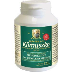 Tabletki wspierające prawidłowy metabolizm Piękna Skóra Ojca A. Cz. Klimuszko (120 tabl. / 1 m-c)