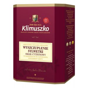 Mieszanka ziołowo-owocowa WYSZCZUPLENIE SYLWETKI,  smak cytrynowy,  20 x 2g w saszetkach do zaparzania (1) (1)
